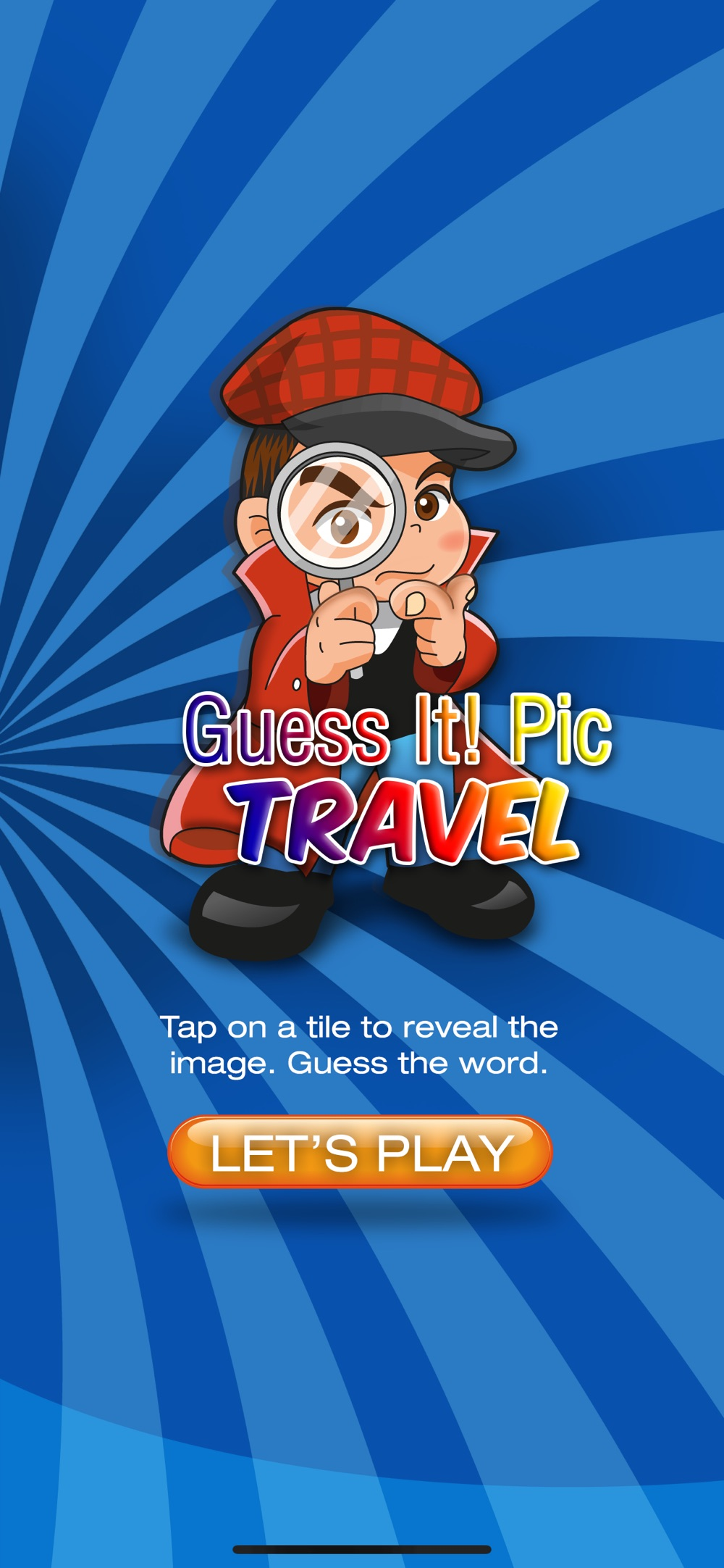 Guess It! Pic Travel Word Game Cheat Codes