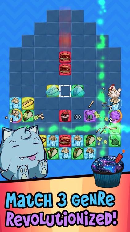 Munchie Match - Stacking Games screenshot-3