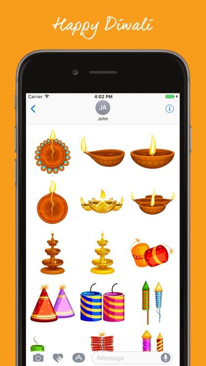 Diwali Stickers For iMessage! screenshot-3