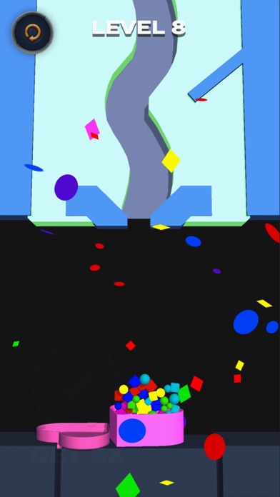 Falling balls: draw the path screenshot #7
