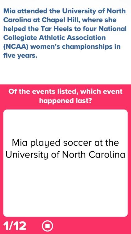 Sports Reading Comprehension screenshot-3