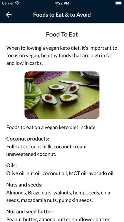 Keto Diet Plan For Weight Loss screenshot-7