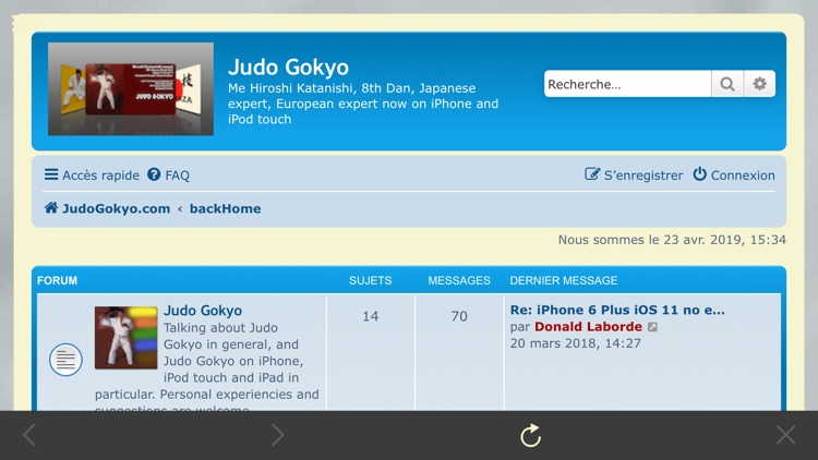 Judo Gokyo screenshot-9