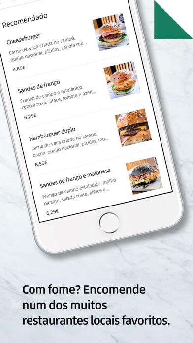 Screenshot for Uber Eats: entrega de comida in Portugal App Store