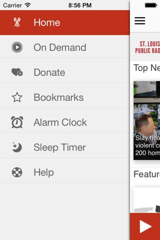 St. Louis Public Radio App - náhled