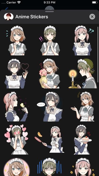 iStickers: Anime Stickers screenshot-9