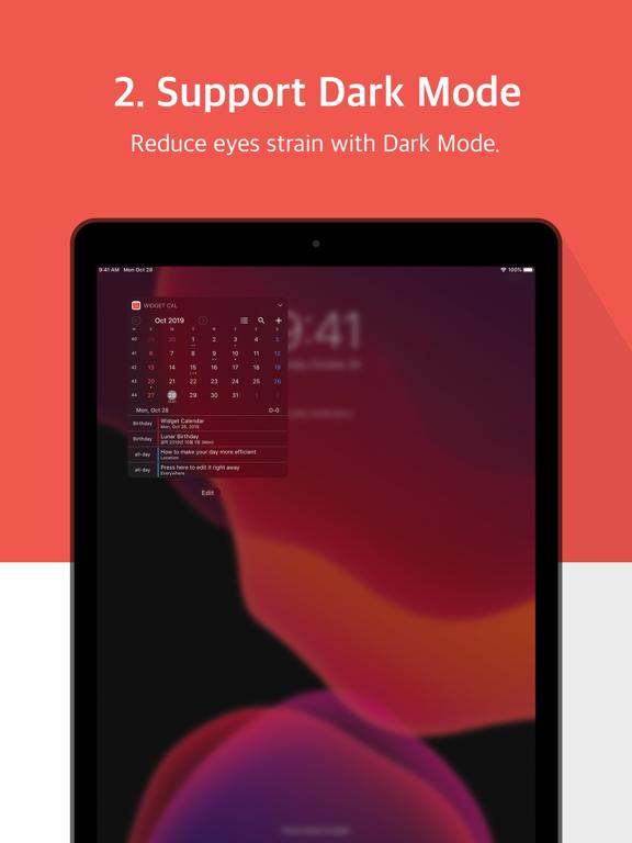 Widget Calendar : Easy&Simple Screenshots