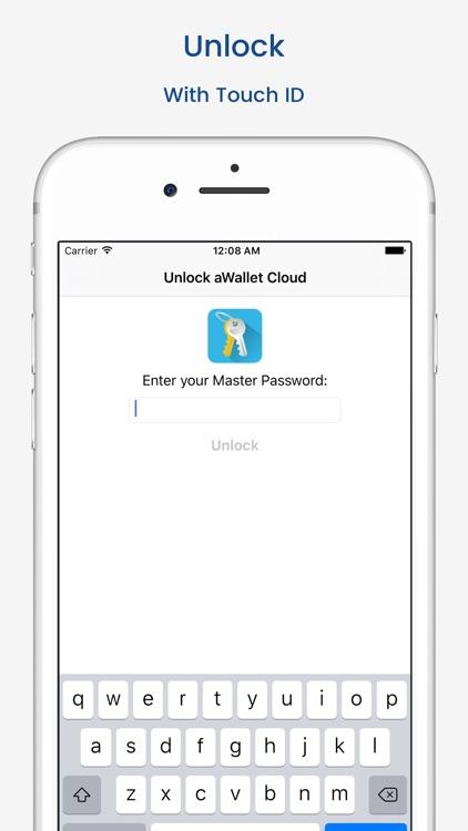 aWallet Password Manager screenshot-4