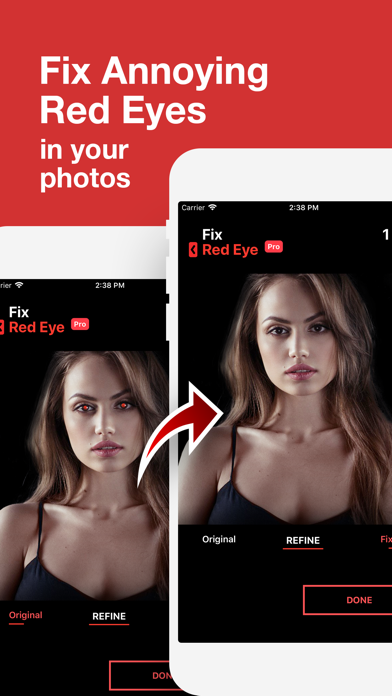 Fix+: Red Eye Remover screenshot 1