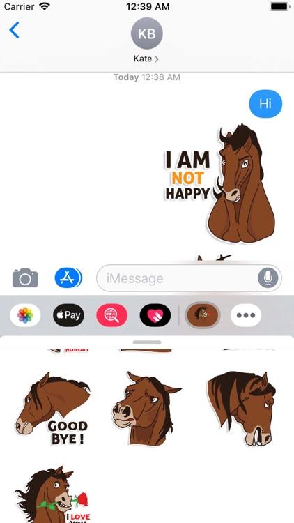 Horse Moji StickerPack