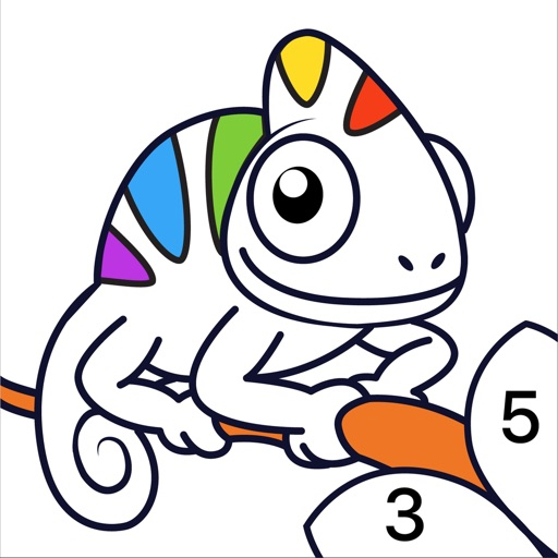 Chamy - раскраска по номерам