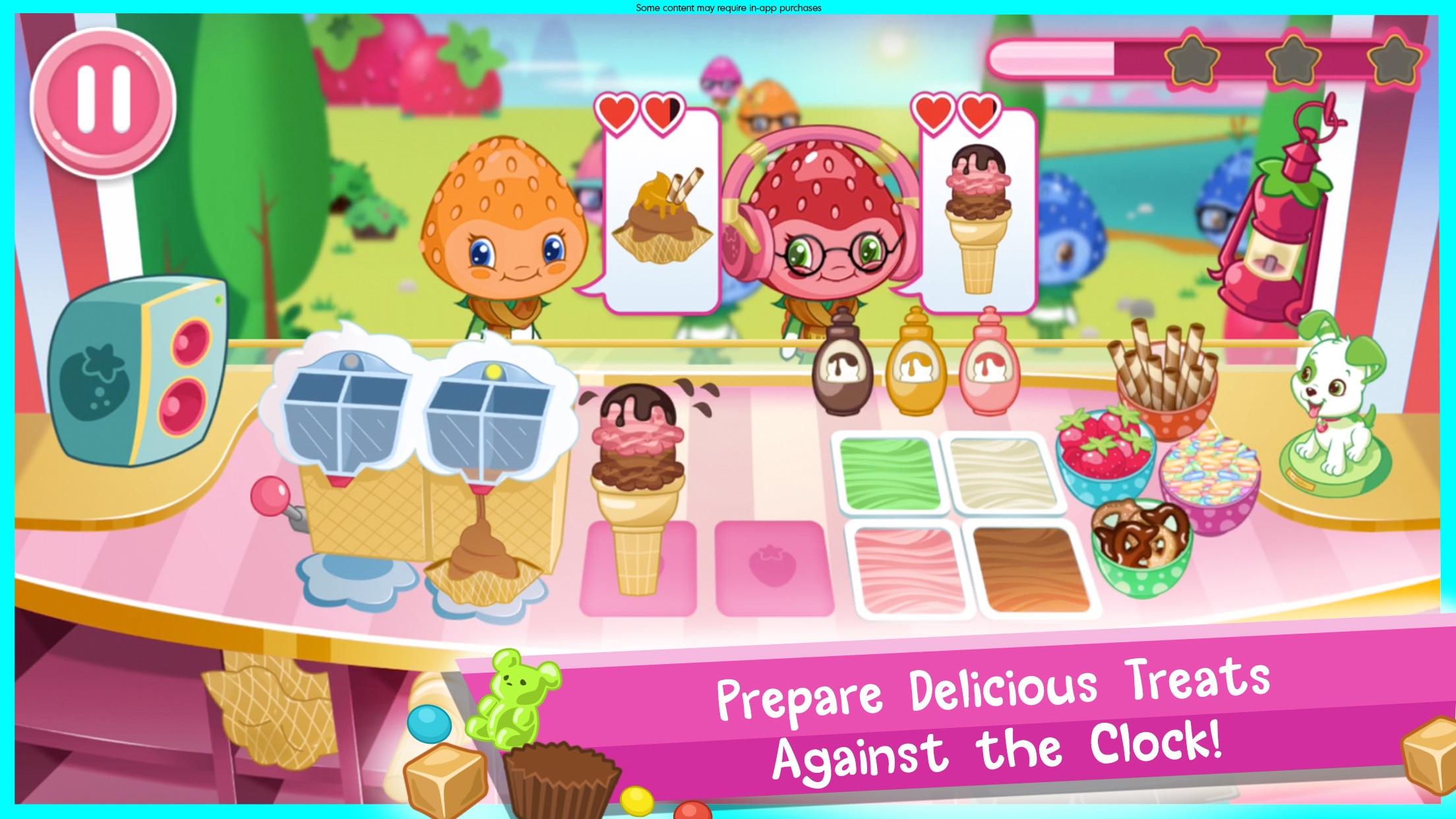 Strawberry Shortcake Ice Cream Screenshot