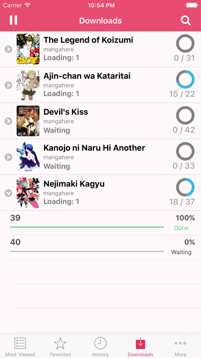 Screen Shot Manga Reader - Manga Viewer 3
