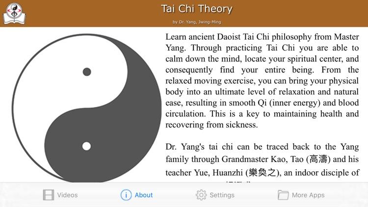 Tai Chi Theory