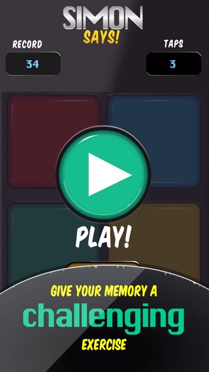 Simon Says Memory Game screenshot-4