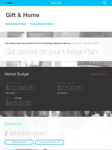 Screenshot of AmericasMart