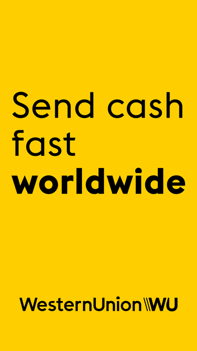 Western Union Money Transfer screenshot