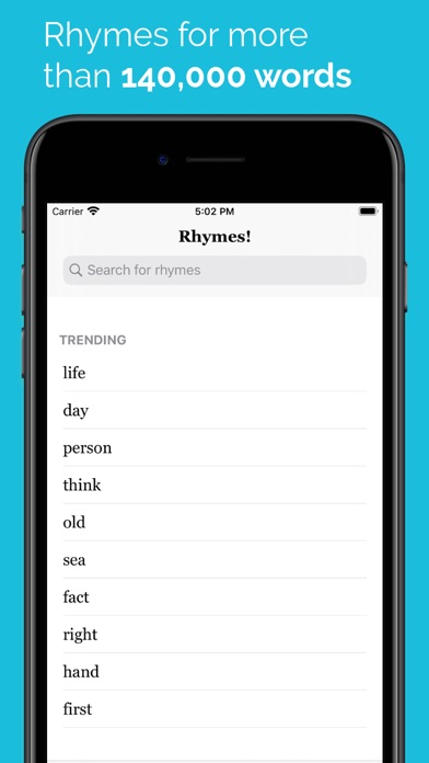 Rhymes! Screenshots