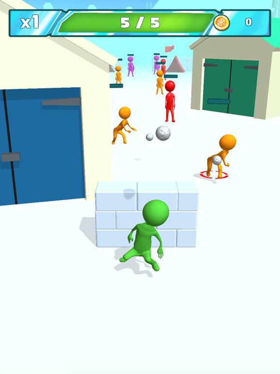 Snowballs fight screenshot 8