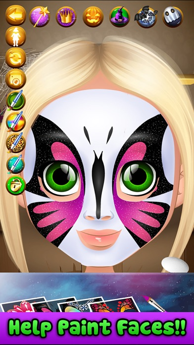 Halloween Face Paint Salon для iPhone скачать бесплатно ...