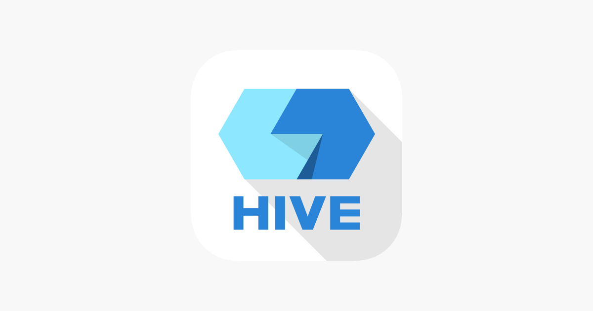 with HIVE on the App Store