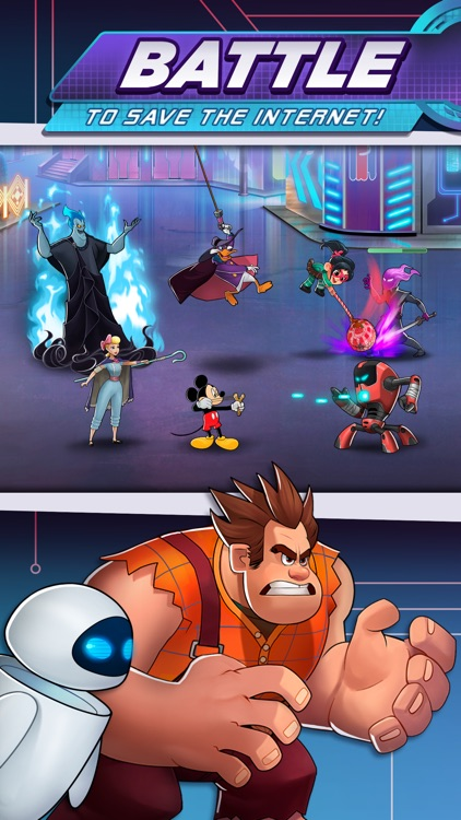 Disney Heroes: Battle Mode screenshot-0