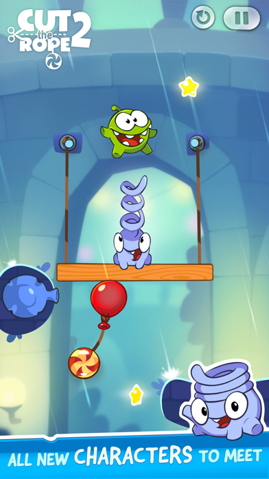 Cut the Rope 2: Om Nom's Quest - Phone Preview