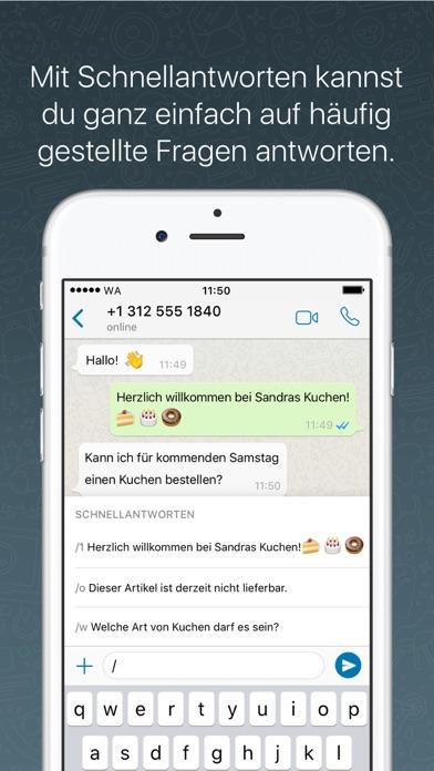 WhatsApp BusinessScreenshot von 3