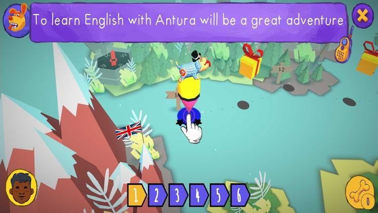 Learn English with Antura