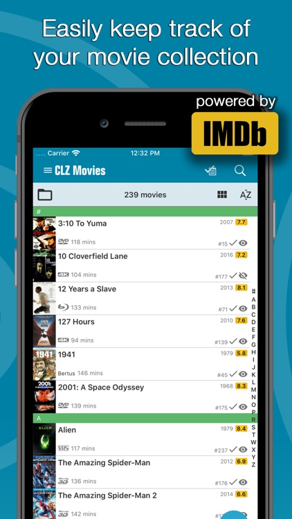 CLZ Movies - movie cataloging screenshot-0