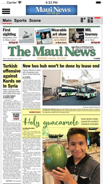 Maui News On The Go