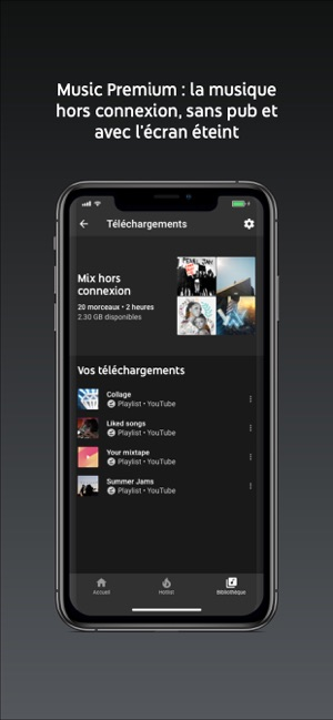 YouTube Music dans l'App Store
