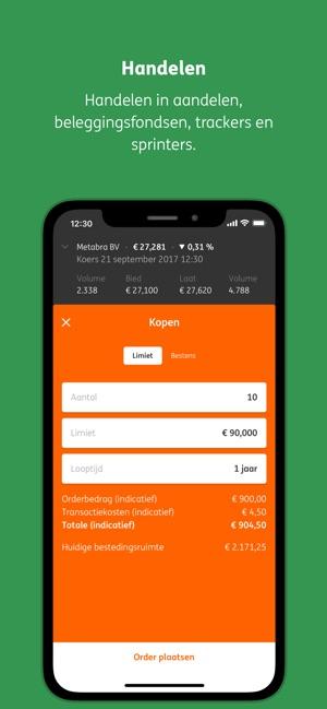 ING Mobiel Beleggen App