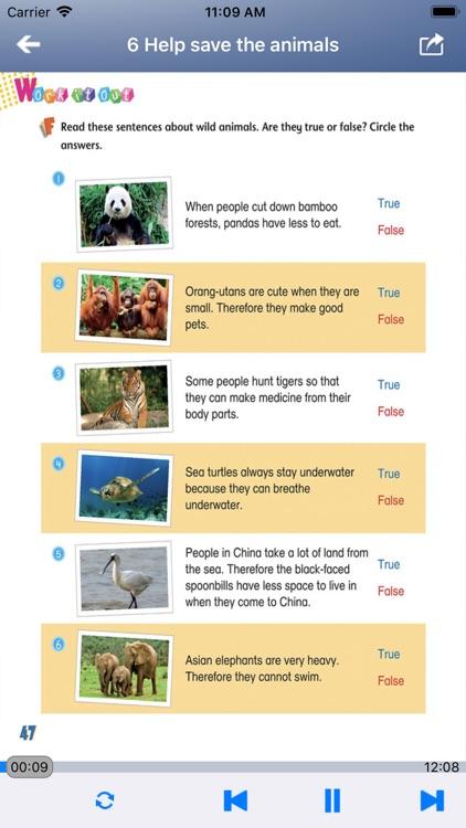 香港小学英语五年级上下册 - Gold升级版5A5B screenshot-4