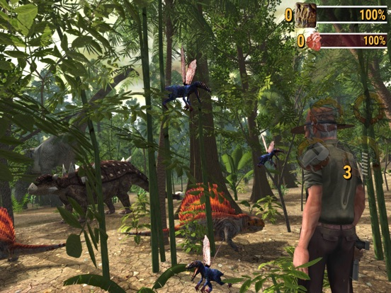 Screenshot #5 for Dino Safari: E-Pro