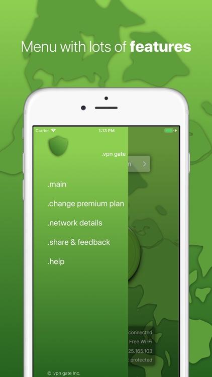 .VPN Gate - Proxy Master TOR screenshot-4
