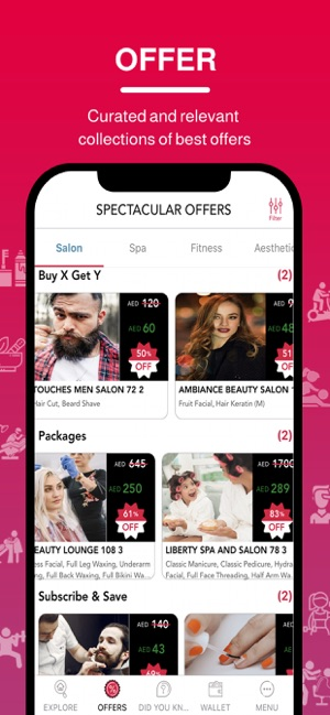 Beauty, Fitness & Wellness enthusiasts - Your One-Stop-App Image