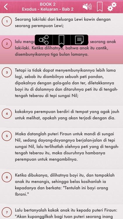 Indonesian Bible Audio mp3 Pro screenshot-4