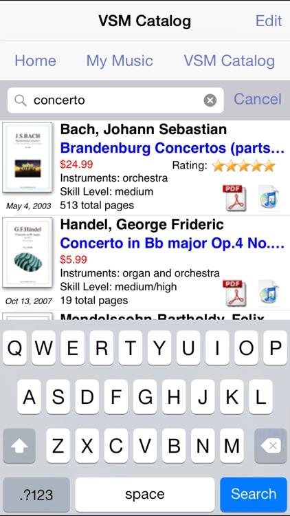 Virtual Sheet Music screenshot-4