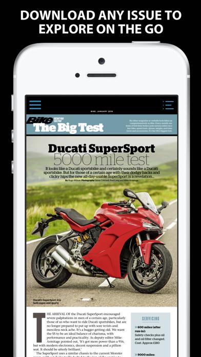 Bike review screenshots