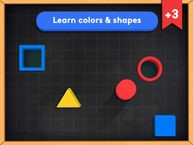Busy Shapes & Colors Screenshot