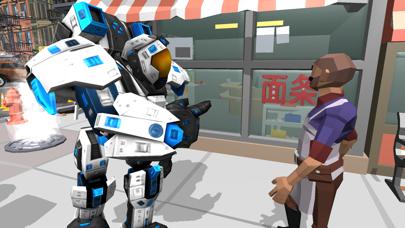 Flying Super-Hero Rescue Robo Screenshots