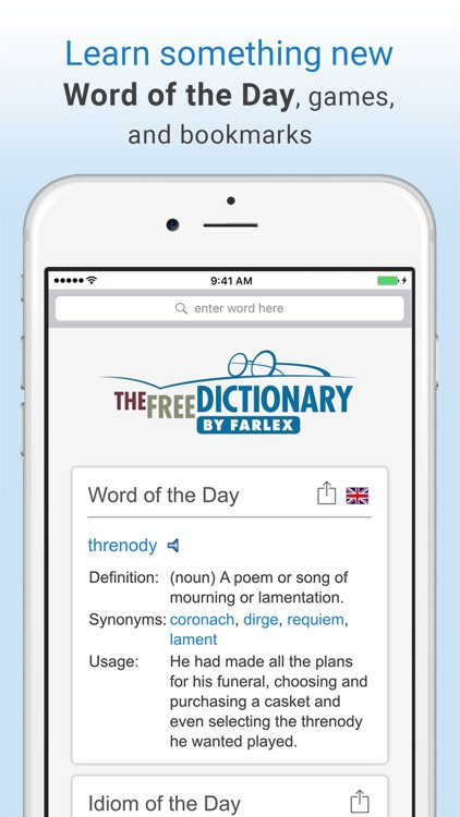 Dictionary and Thesaurus Pro screenshot-4