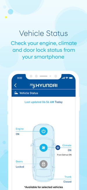My Hyundai Blue Link >> Myhyundai With Blue Link On The App Store