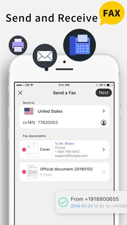Scanner App + Scan Doc Fax PDF screenshot-5