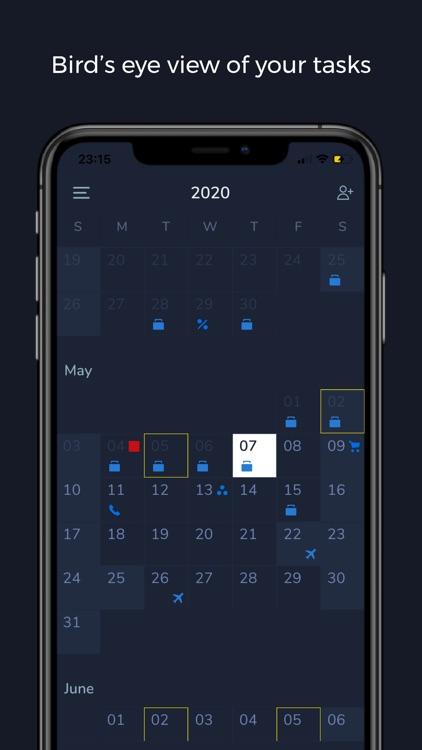 Tasqr: To-do list & Reminders screenshot-3