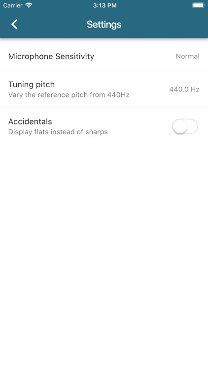 Pitched Tuner