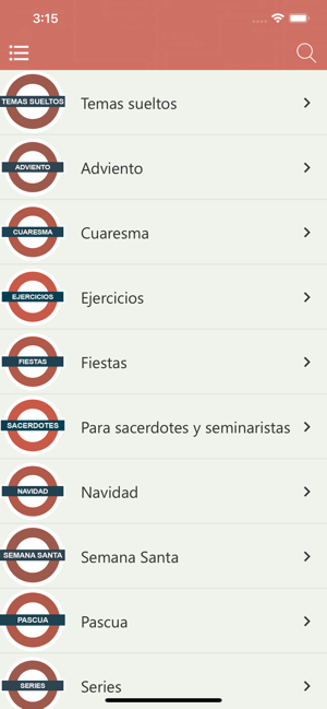 ‎Rezar en el Metro Screenshot