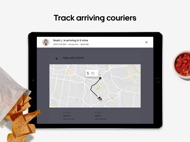 Uber Eats for Restaurants ipad images