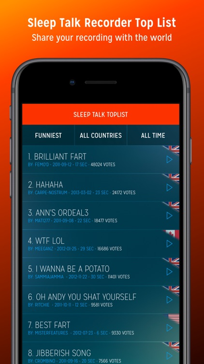 Sleep Talk Recorder screenshot-3